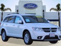 Options:  2014 Dodge Journey Sxt|White/Black|V6 3.6 L