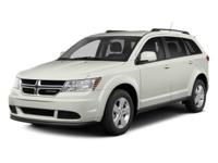 2014 DODGE JOURNEY SXT IN WHITE!!  MAXWELL FOREVER