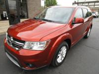 2014 DODGE JOURNEY SXT, 1-OWNER AND 3rd row seating.