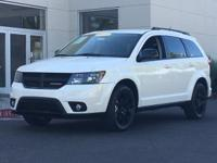 New Price! Pearl White Tri-Coat 2014 Dodge Journey SXT