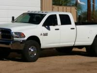 2014 Dodge RAM 3500 Crew Cab 4x4 Long Bed Dually, 6.7L