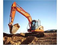 2014 Doosan Construction DX180LC-3 41k pound excavator