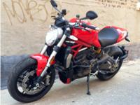 Ducati Monster 1200 Shape and function The performance