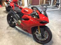 Make: Ducati Model: Other Mileage: 2,300 Mi Year: 2014