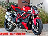 the brand-new Streetfighter 848 offers pure