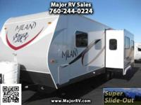 2014 Eclipse RV Milan 26 RLSG TRAVEL TRAILER BACK