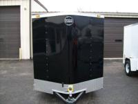 NEW 2014 FASTRAC BY WELLS CARGO 6X12 BLACK IN COLOR,