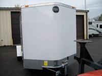 NEW 2014 FASTRAC BY WELLS CARGO 6X12 REAR RAMP DOOR,