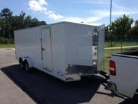 2014 7wide x 6high x 20long Enclosed Cargo Trailer 20'