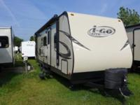 The 2014 I-GO 256BH is a travel trailer that was built