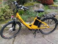 2014 eZee Sprint Electric Bike (with charger and