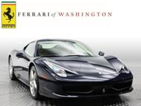 Looking for a clean, well-cared for 2014 Ferrari 458