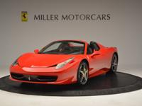 This is a Ferrari 458 Italia for sale by Miller