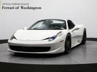 Ferrari Maserati of Washington is excited to offer this