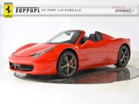 2014 Ferrari 458 Spider Ferrari-Maserati of Fort