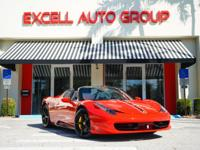 Introducing the 2013 Ferrari 458 Spider equipped with