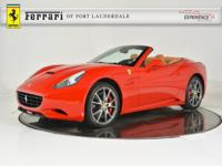 2014 Ferrari California - FERRARI APPROVED - CERTIFIED