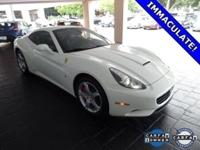 2014 FERRARI CALIFORNIA 2+2 WHITE IN WEST PALM BEACH.