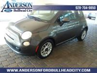 Granite 2014 Fiat 500 Pop FWD 6-Speed Aisin F21-250