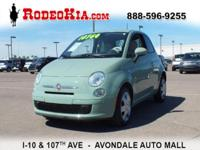 PREMIUM & KEY FEATURES ON THIS 2014 Fiat 500 include,