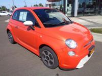 LOW MILES, This 2014 Fiat 500e 2DR HB BATTERY EL will