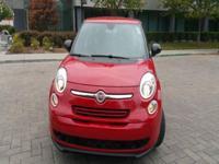 Options:  2014 Fiat 500L Pop 4Dr Hatchback|Red|2-Stage