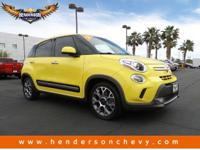 Come see this 2014 FIAT 500L Trekking. Its Manual