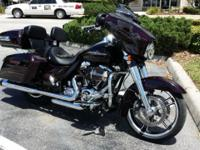 As new Street Glide Special with CVO options 1900 miles