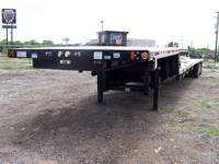 2014 Fontain Flat bed Trailer Like new aluminum 48x102