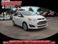 **HAGGLE FREE PRICING** 1-Owner White 2014 Ford C-Max