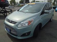 """YOU HAVE TO SEE THIS SPORTY FORD C-MAX WAGON."
