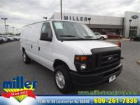 Exterior Color: white, Body: Cargo Van, Engine: 4.6L V8