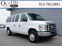 Exterior Color: white, Body: Passenger Van, Engine: