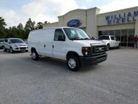 This 2014 Ford Econoline Cargo Van E-150 Commercial is