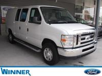 2014 Ford E-250 Commercial in Oxford White, USB/ AUX
