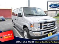 From mountains to mud, this Silver 2014 Ford Econoline