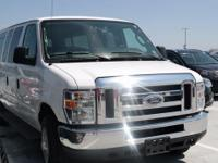 2014 Ford E-350SD XLT Oxford White CARFAX One-Owner.