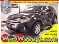 Life on the EDGE! This 2014 Ford Edge Limited comes