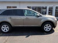 Gray 2014 Ford Edge SEL AWD 6-Speed Automatic with