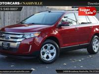 This 2014 Ford Edge 4dr 4dr SEL AWD features a 3.5L V6