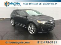 CARFAX One-Owner. Clean CARFAX. Chrome 2014 Ford Edge