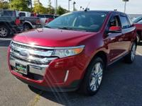 Get lots for your money with this  2014 Ford Edge. This