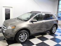 Solid and stately, this 2014 Ford Edge is a meticulous