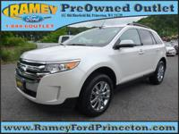 Take command of the road with this 2014 Ford Edge. This
