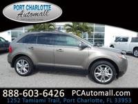 CARFAX One-Owner. Clean CARFAX. Gray 2014 Ford Edge