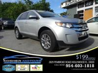 Options:  2014 Ford Edge Limited 4Dr Suv|Silver|Limited