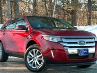 2014 Ford Edge, Ruby Red Metallic Tinted Clearcoat, One