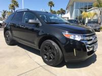 New Price! 2014 Ford Edge SE CARFAX One-Owner. Clean