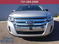 Silver 2014 Ford Edge SE FWD 6-Speed Automatic with