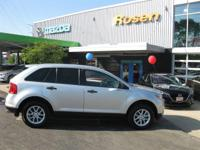 Options:  2014 Ford Edge Se|Ingot Silver